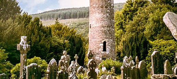 Round tower at Glenalough